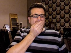 Yawning Nick Tann
